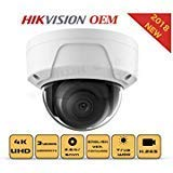 4K PoE Security IP Camera-Compatible with Hikvision...