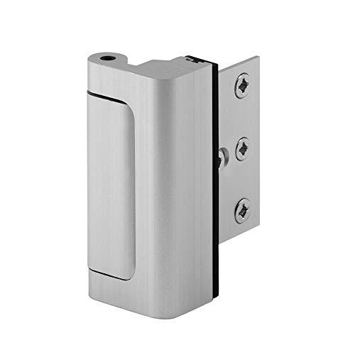 Defender Security Satin Nickel U 10827 Door Reinforcement Lock...