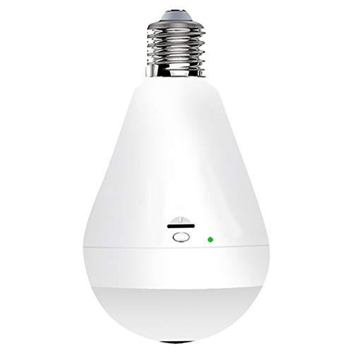 Light Bulb Camera Wifi 1080P HD 360 Fisheye Wireless Security...
