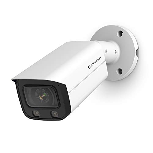 Amcrest NightColor AI UltraHD PoE Bullet Camera w/ 66ft Full...