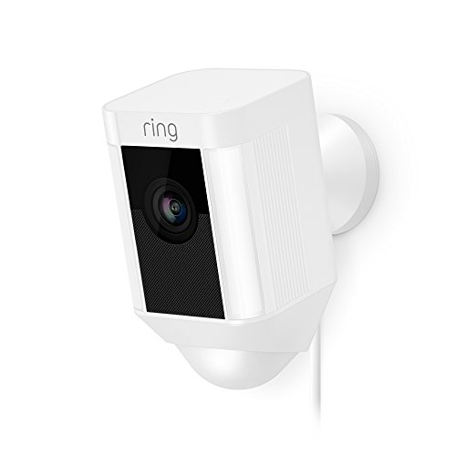 Ring Spotlight Cam Wired: Plugged-in HD security camera with...