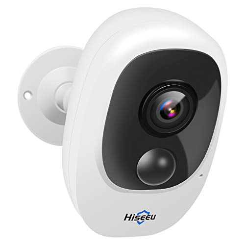 Hiseeu Home Security Camera,Wireless Rechargeable Battery Powered...