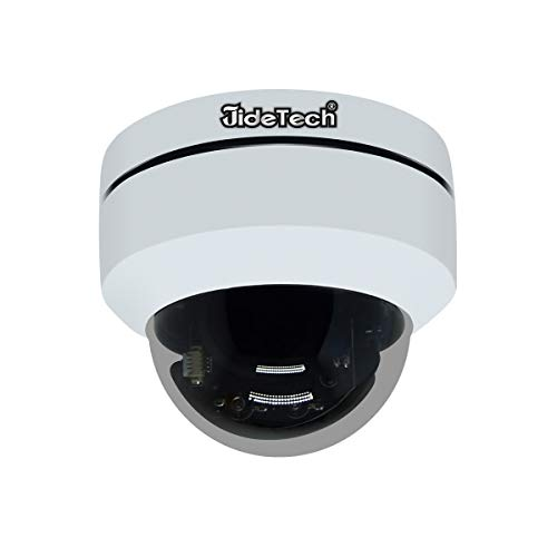 HD 1080P PTZ Outdoor POE Security IP Dome Camera with 4X Optical...