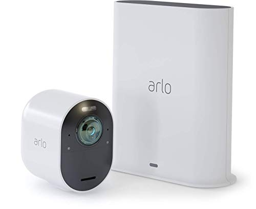 Arlo VMS5140-100NAS Ultra - 4K UHD Wire-Free Security 1 Camera...