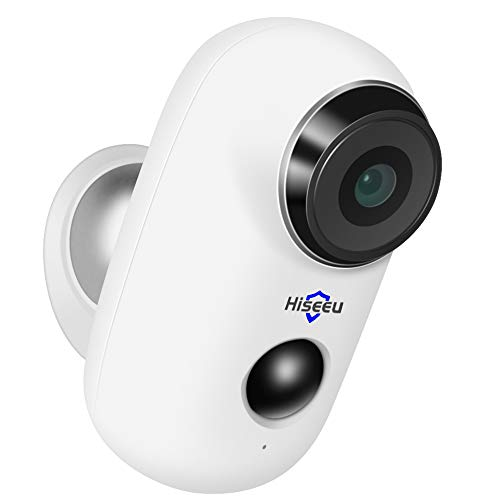 Wireless Rechargeable Battery Powered WiFi Camera, Home Security...
