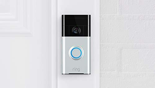 Ring Video Doorbell (1st Gen) – 720p HD video, motion activated...