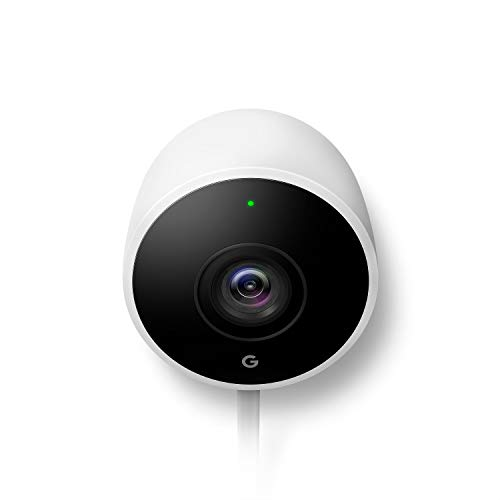 Google Nest Cam Outdoor - Weatherproof Outdoor Camera for Home...