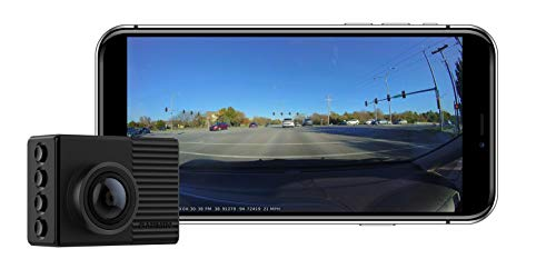 Garmin Dash Cam 66W, Extra-Wide 180-Degree Field of View In 1440P...