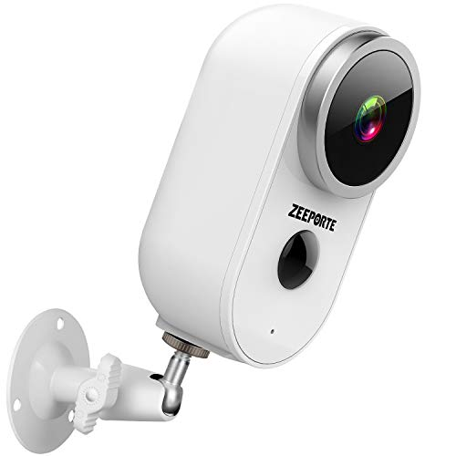 Security Camera Outdoor, 1080P HD Wireless Rechargeable Battery...