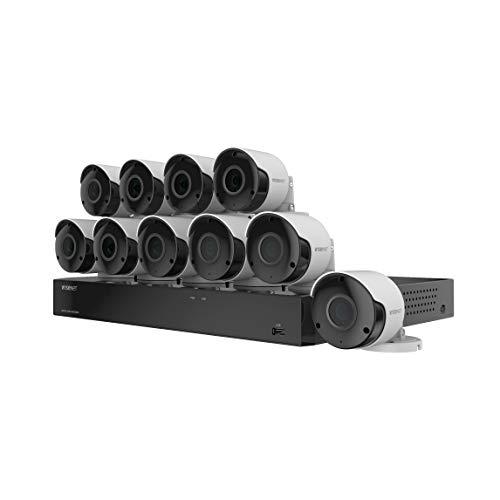 Wisenet SDH-C85105BF 16 Channel Super HD DVR Video Security...