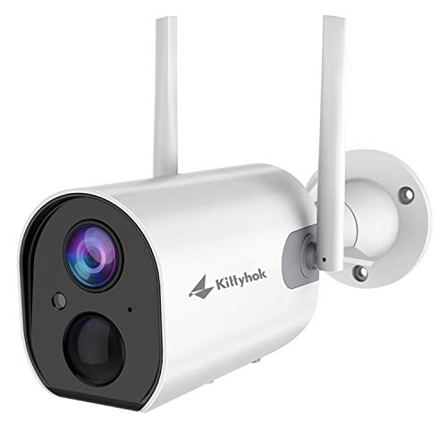Kittyhok Wire-Free Outdoor Battery Powered Security Cameras...