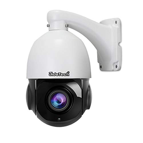 High Speed 5MP H.265 PTZ POE IP Security Dome Camera with 20X...