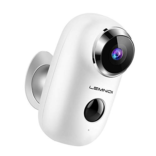 Wireless Rechargeable Battery-Powered Outdoor Camera, WiFi 1080P...