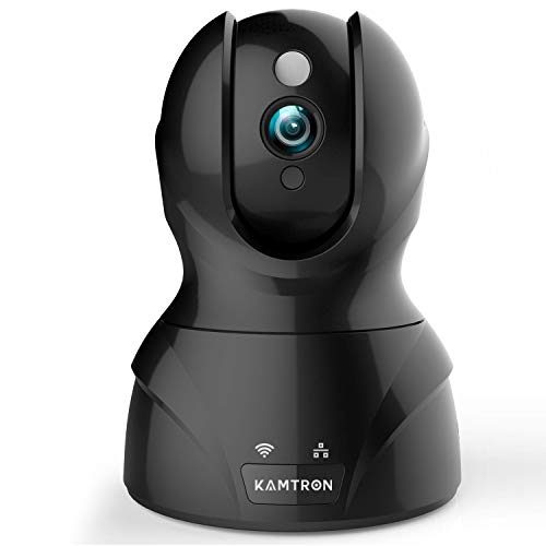 Wireless Security Camera with Two-way Audio - KAMTRON 1080P HD...