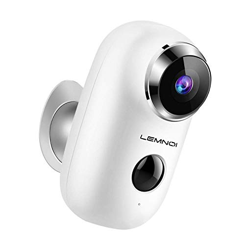 Wireless Rechargeable Outdoot Security Camera, Solar Powered WiFi...