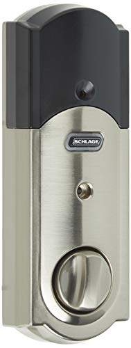 Schlage Z-Wave Connect Camelot Touchscreen Deadbolt with Built-In...