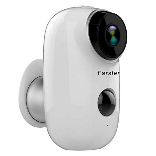 Farsler A3 Rechargeable Battery-Powered Camera Indoor/Outdoor...
