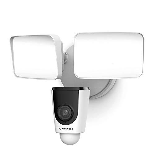 Amcrest Floodlight Camera, Smart Home 1080P Security Outdoor...