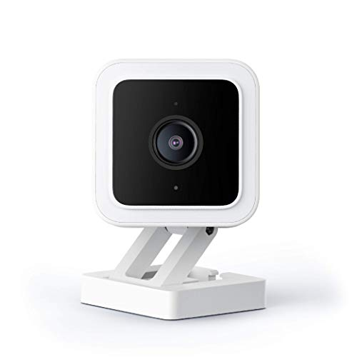 WYZE Cam v3 with Color Night Vision, Wired 1080p HD...