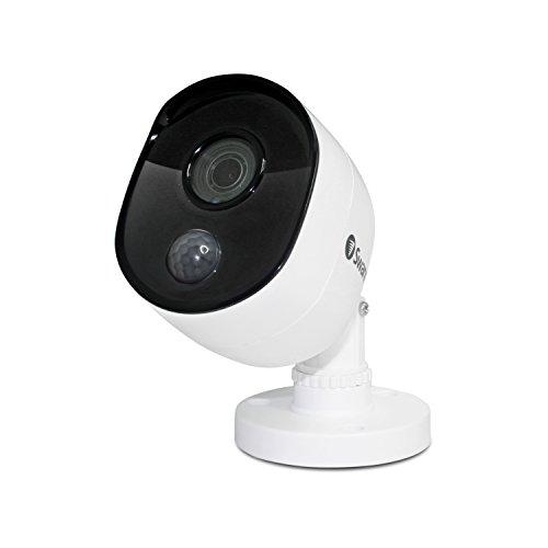 Swann Indoor/Outdoor Home Security Camera, 1080p PIR Bullet Cam,...