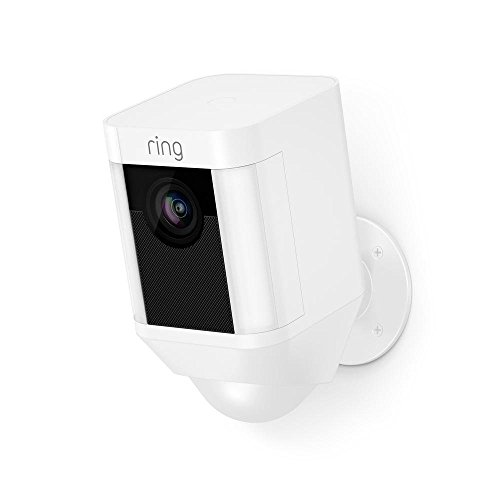 Ring Spotlight Cam Battery HD Security Camera with Built Two-Way...