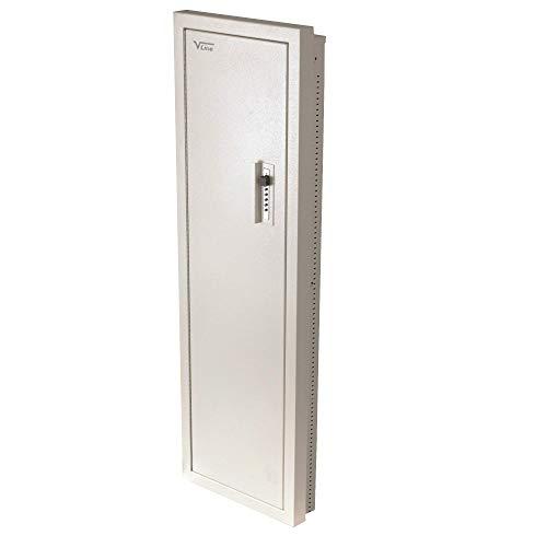 V-Line Closet Vault II Gun Safe & in-Wall Cabinet, Off White