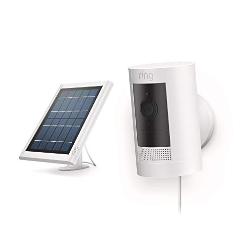 All-new Ring Stick Up Cam Solar HD security camera with two-way...