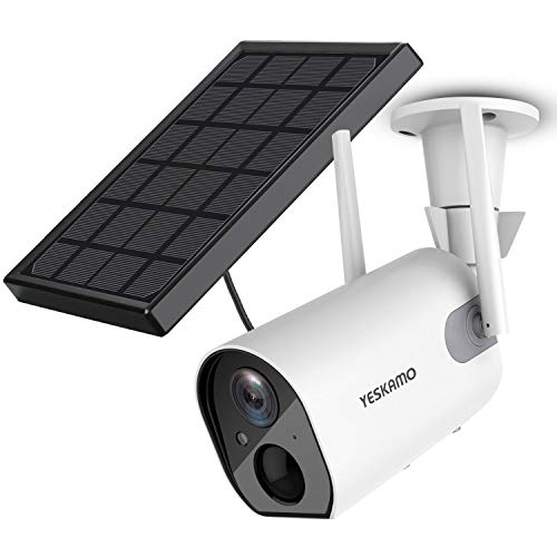 Solar Security Camera Wireless - Outdoor Rechargeable Battery...