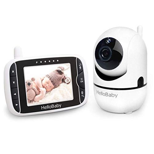 Baby Monitor with Remote Pan-Tilt-Zoom Camera and 3.2'' LCD...