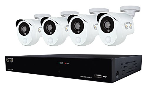 Night Owl Security 8 Channel 1080p HD Video Security DVR with 1...