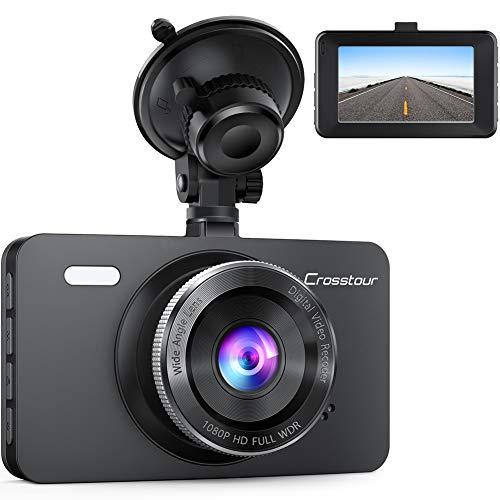 Dash Cam, Crosstour 1080P Car DVR Dashboard Camera Full HD with...
