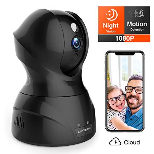 Security Camera 1080P WiFi Dog Pet Camera - KAMTRON Wireless...