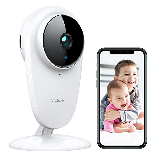 Victure 1080P FHD Baby Monitor Pet Camera 2.4G Wireless Indoor...