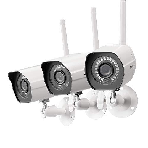 Zmodo Outdoor Camera Wireless, 1080p Security Camera Wireless, 3...