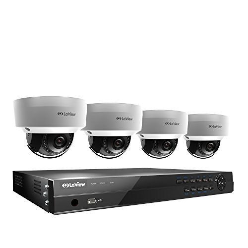 LaView 8CH PoE Home Security Camera System 8MP 4K NVR 2TB HDD...