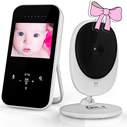 Video Baby Monitor with Camera and Audio - Auto Night Vision, DR....