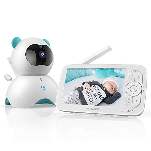 HeimVision HM136 Video Baby Monitor, 5' LCD Display, 720P HD,...