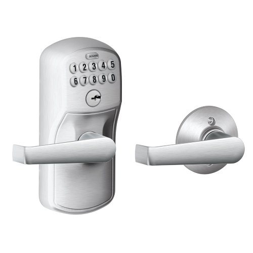 Schlage FE575 PLY 626 ELA Plymouth Keypad Entry with Auto-Lock...
