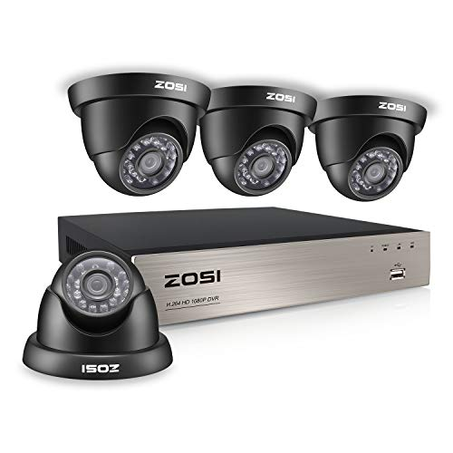 ZOSI Home Security Camera System 8 Channel FULL 1080P HD-TVI...