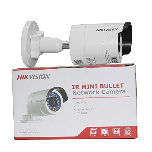 Hikvision 4MP DS-2CD2042WD-I IR PoE Network Security Bullet...