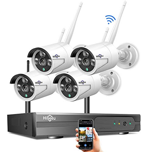 [8CH Expandable] Hiseeu 1080P Wireless Security Camera System...