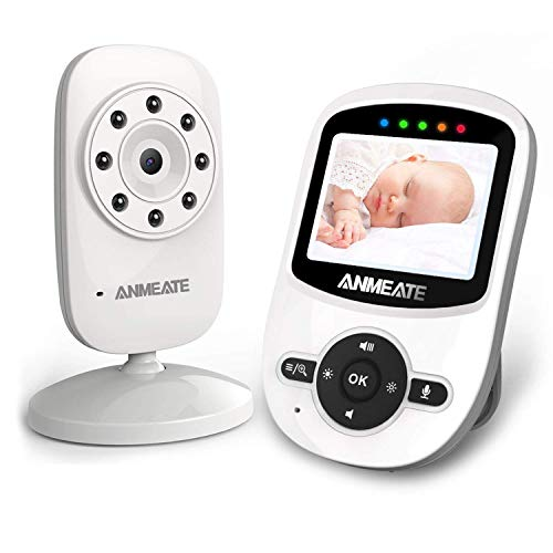 Video Baby Monitor with Digital Camera, ANMEATE Digital 2.4Ghz...