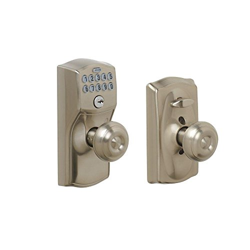 Schlage FE595 CAM 619 GEO Camelot Keypad Entry with Flex-Lock and...