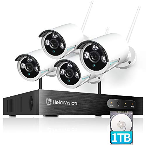heimvision HM241A 1080P Wireless Security Camera System with 1TB...