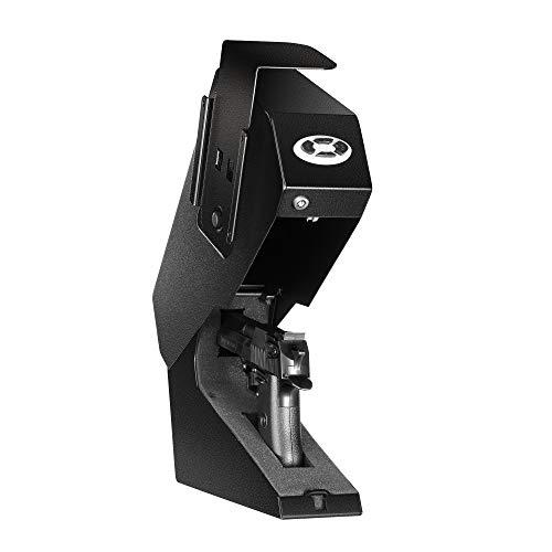 Champs Quick Access Handgun Safe Automatic Open, Under Desk...