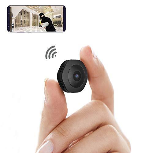 Mini WiFi Camera,MRSGUO Spy Wireless Hidden HD 1080P Portable...