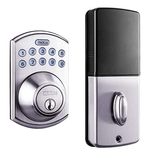 Tacklife Keypad Electronic Deadbolt Door Lock, Keyless Entry Door...