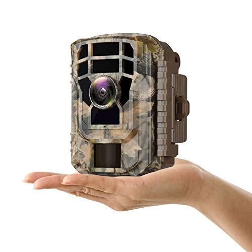 Campark Mini Trail Camera 16MP 1080P HD Game Camera Waterproof...