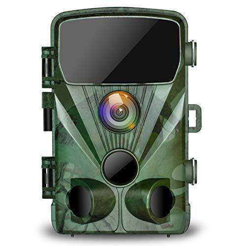 TOGUARD Trail Camera 14MP 1080P Night Vision Game Camera