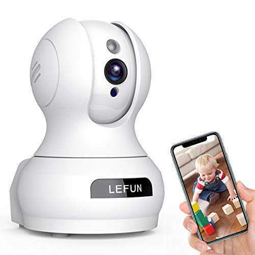 Baby Monitor WiFi Smartphone, Lefun WiFi Baby Monitor with Camera...
